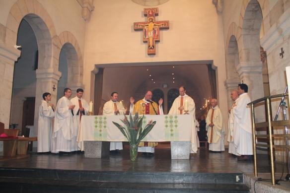 Messe de la Saint François présidée par Mgr. Planet (4 octobre 2013)