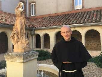 Fr. Irénée, à son arrivée en octobre 2016.