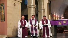 Fr. Irénée, P. Luc Caraguel, P. Olivier Escaffit (vêpres de Carême).