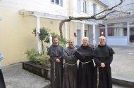 Le nouveau définitoire : fr. Adrian, fr. Jack, fr. Bernard, fr. Jean - François.